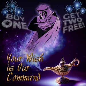 Phantom Fireworks - Aladdin Promo