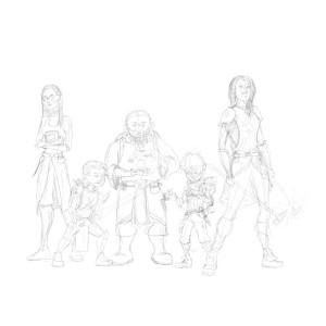 Dawnbringers Sketch