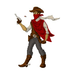 Desperado Pixel Art Test