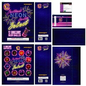 Phantom Fireworks - Brilliant Neon Shells Select