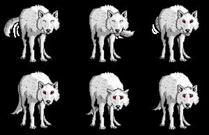 Pet Ghost - Ghost Sprite Sheet