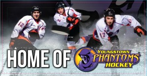 Phantoms Hockey Arena Banner