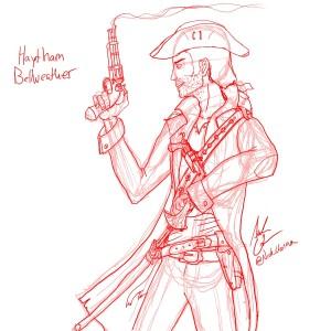 Haytham Sketch