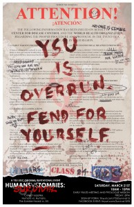 HvZ: Survival Poster