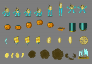 Because Potatoes - Sprite Sheet GMTK Jam 2018