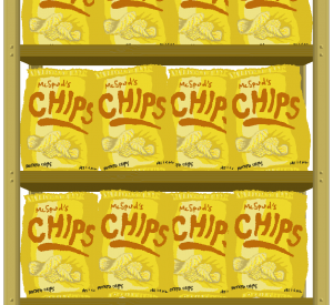Because Potatoes - Chip Background -GMTK Jam 2018