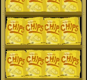 Because Potatoes - Chip Background Element - GMTK Jam 2018