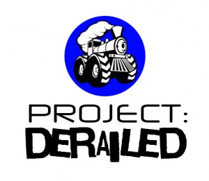 Project Derailed Logo (Stacked)