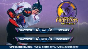 Phantoms Hockey Update