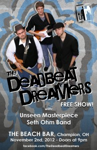Deadbeat Dreamers Band Poster 1