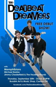 Deadbeat Dreamers Band Poster 2